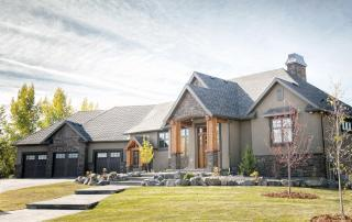 Claresholm custom home