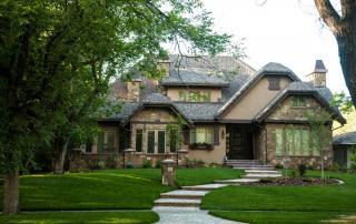 Lethbridge custom home exterior