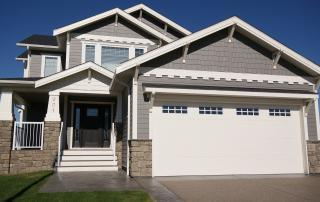 Lethbridge west custom home exterior