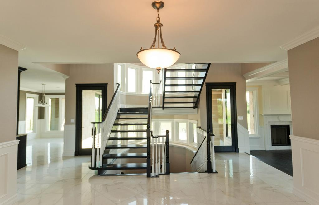 Lethbridge custom home staircase