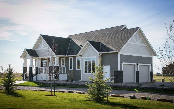 Lethbridge custom home exterior country Taber