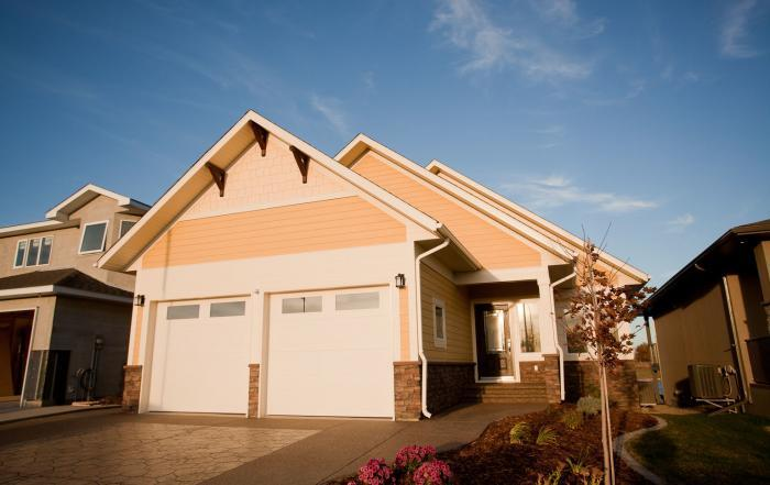 Lethbridge custom home exterior sixmile