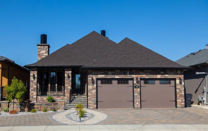 Lethbridge custom home exterior