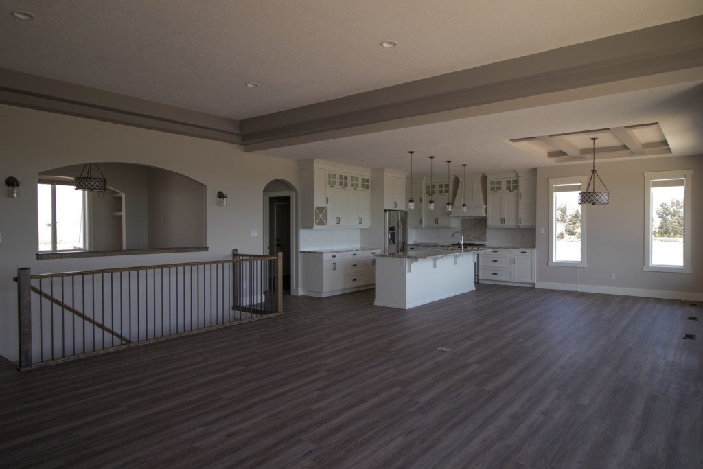 Chin custom country home upstairs