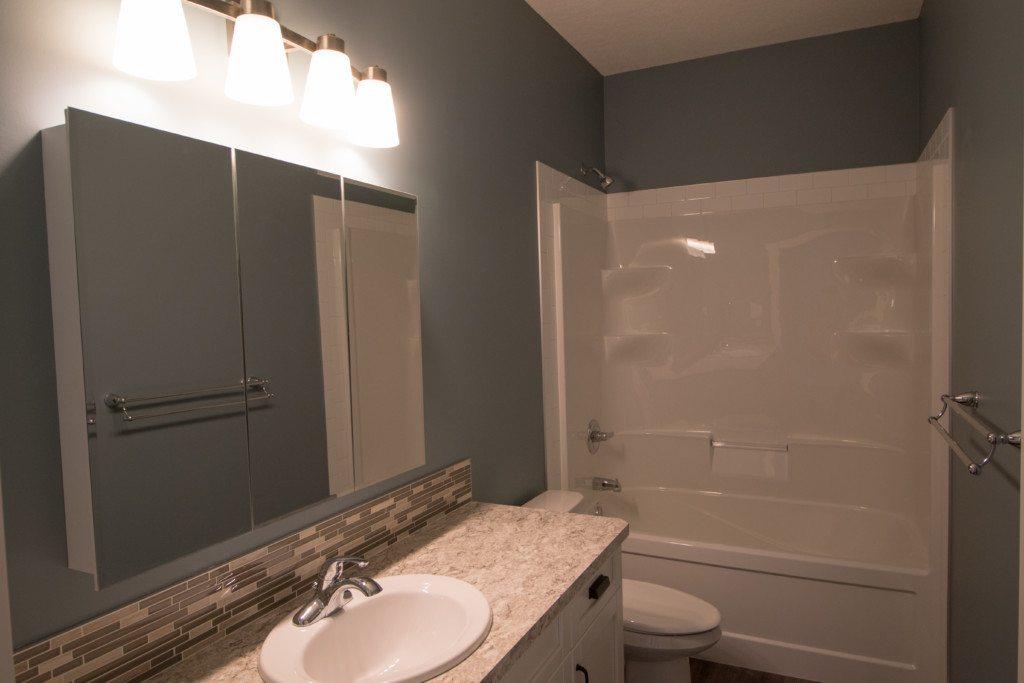 Chin custom country home downstairs bathroom 1